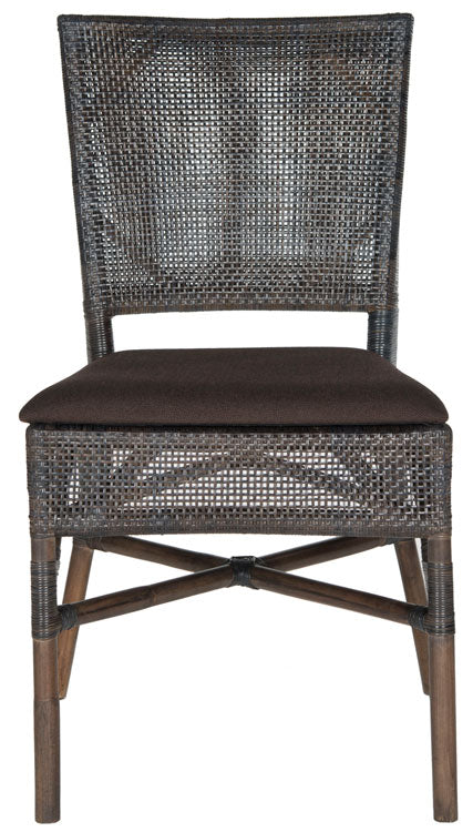 "17""h Rattan Side Chair - Mix Home Mercantile"