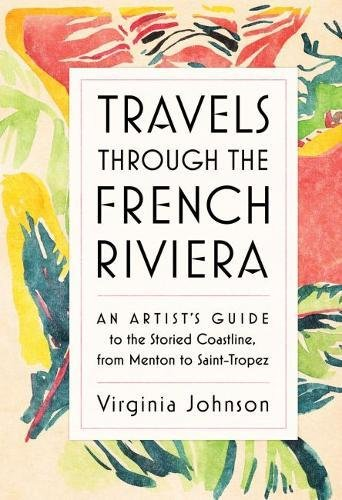 Travels through the French Riviera hardcover - Mix Home Mercantile