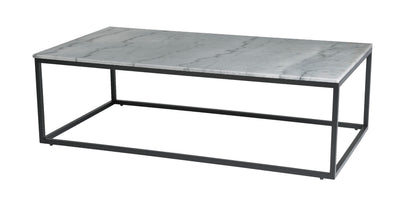 Grey Marble Top Coffee Table - Mix Home Mercantile