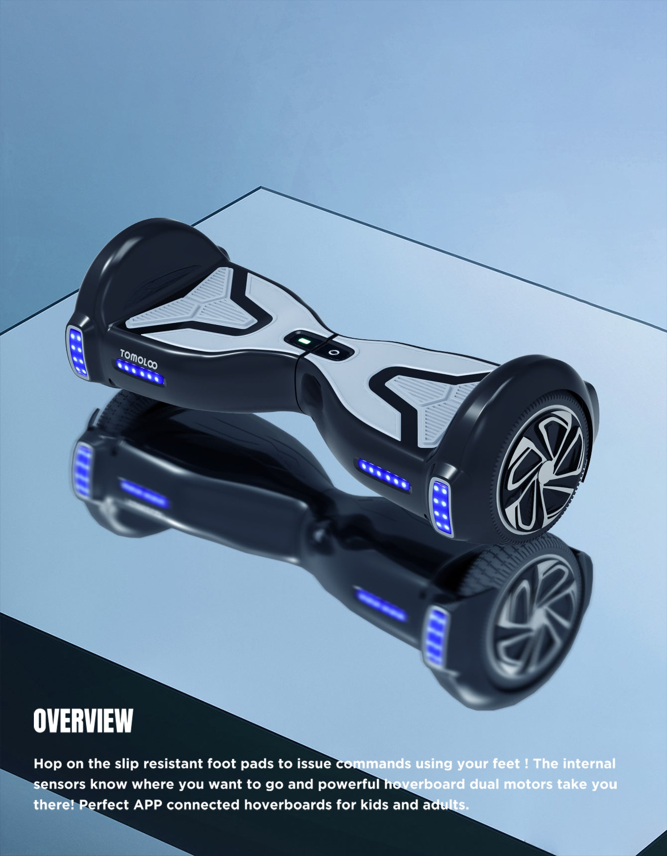 a bluetooth hoverboard