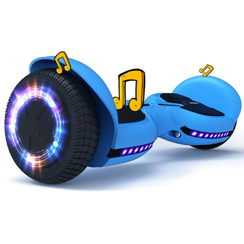 Image of Bluetooth Hoverboard with Led Light Flashing Wheels | TOMOLOO Q3-C Hoverboard for Kids