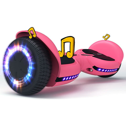 Bluetooth Hoverboard with Led Light Flashing Wheels | TOMOLOO Q3-C Hoverboard for Kids