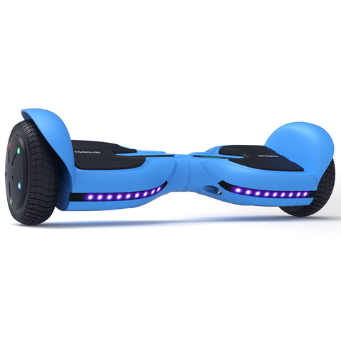 Image of Kids Hoverboard | Black Hoverboard for Kids| TOMOLOO Bluetooth Hoverboard Q2C/ Q3C Blue