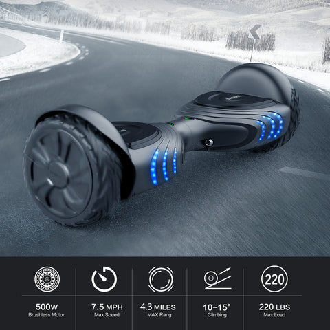 Image of TOMOLOO | Q2X | Adult Hoverboard | All-terrain Scooter | Self Balancing Hoverboard