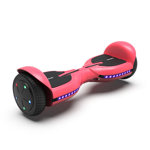 Image of Kids Hoverboard Bluetooth with with Led Lights| TOMOLOO Q3C Hoverboard Pink