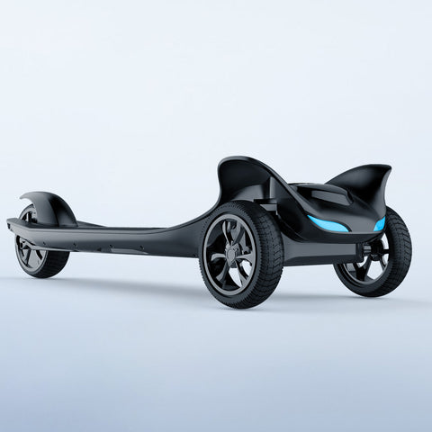 Image of electric scooter 3 wheel