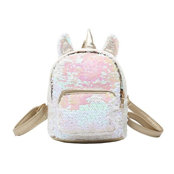 Teenage Girl Sequin Schoolbag