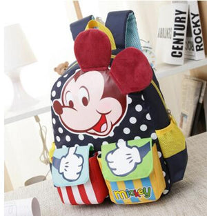 Cartoon Mickey Children School Bags