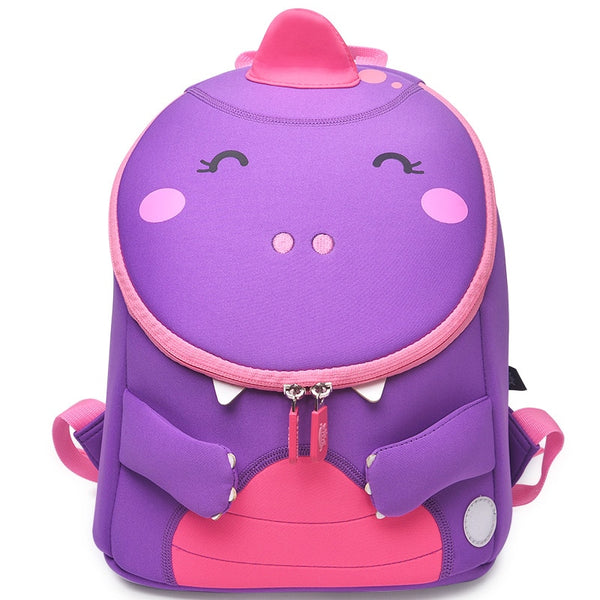 3D Animals Designer School Bag