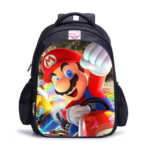 Mario Sonic School Backpack