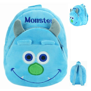 School Bag Plush Cartoon