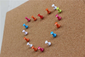 50pcs/ New Mixing Colors Plastic Pins