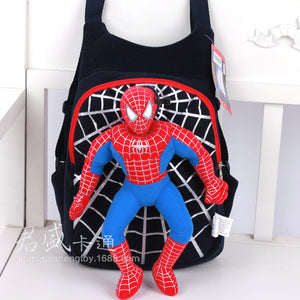 3D Spiderman School Bag