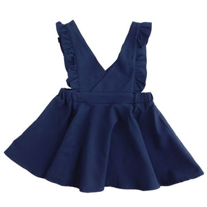 Spring Autumn Girls Clothes 2020 Fashion Vest Girls Dress