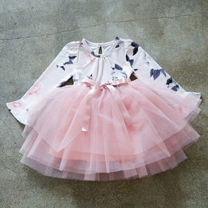 Girls Mini Tutu Dress Party Wear