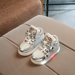Children Glowing Kids  LED Light Sneakers