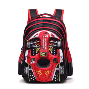 Children Cartoon 3D Car School Bags