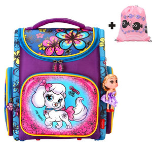 Cute Dog Children School Bags