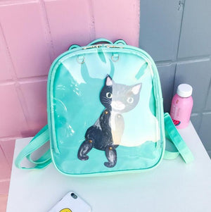 Women Candy Color Cat Ita Bag