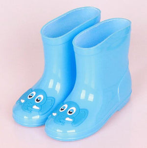 Waterproof  Pvc Rubber Cartoon Shoes