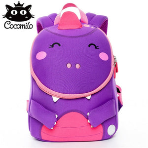 Baby Bear Elephant Kindergarten Backpack