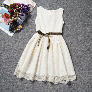 Summer Lace Princess Girl Communion Dress