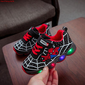Mesh footwear kids LED Flashing Shoes