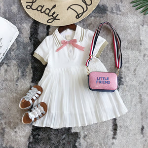 2019 summer baby girl dress for children short-sleeve school dresses kids clothes girls summer tutu dresses costume droshipping
