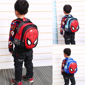 Gift 3D Spiderman School Bags