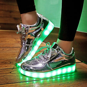 Children Glowing Light Shoes