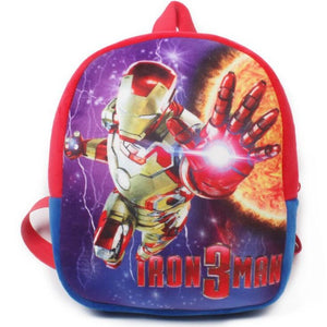 Cartoon Plush School Backpack