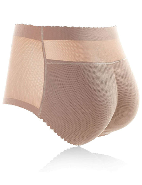 Metelam Butt Lifter Padded Control Panties Enhancing Body Shaper Booty Booster Seamless Underwear-control panties-Metelam
