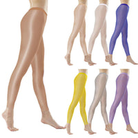 Metelam Womens High Stretch Fabric Ultra Soft and Elastic Smooth Oil Shiny Leggings-legging-Metelam