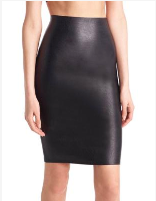 49914ca69 Commando Faux Leather Pencil Skirt – Off Seids Clothing