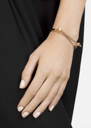 Miansai Modern Screw Cuff Gold Plated
