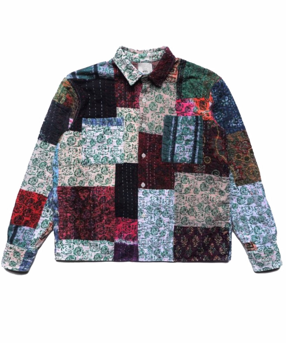 Patchwork Overshirt