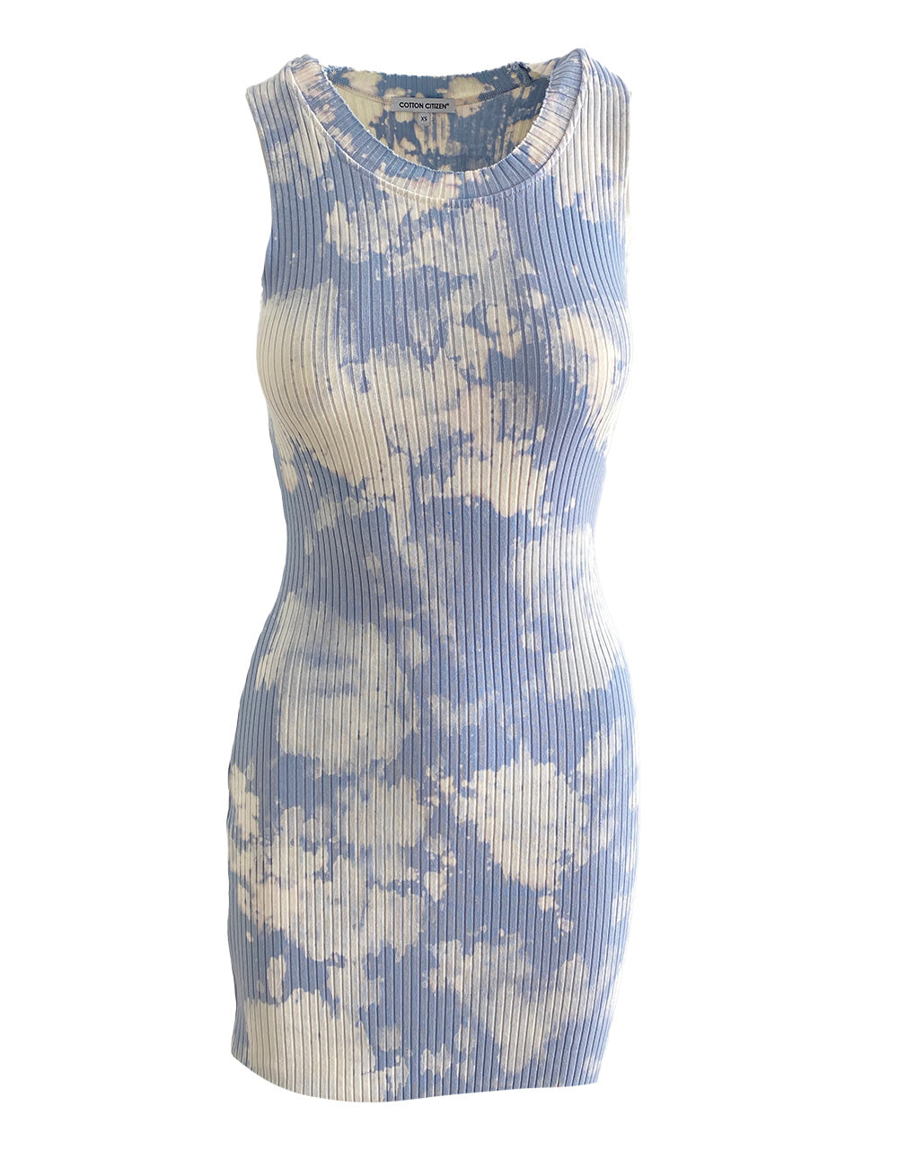 Ibiza Tank Dress in Crystalline Splatter