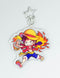 Luffy Red Hawk Keychain