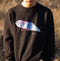Water Crewneck (Black)