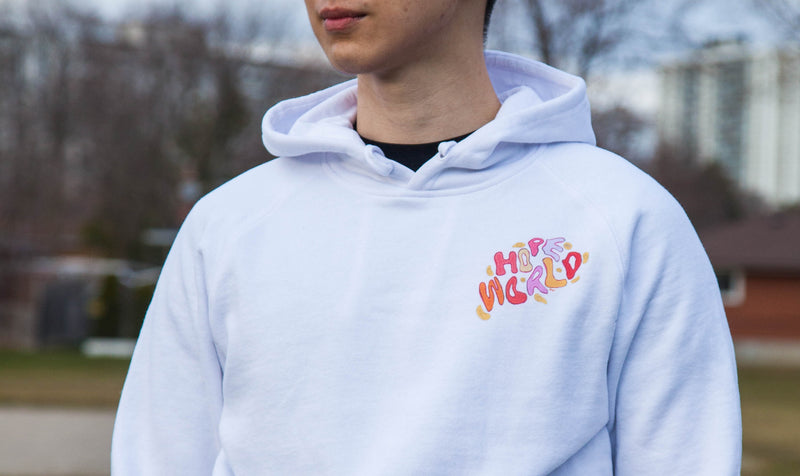 Hope World Hoodie (White)