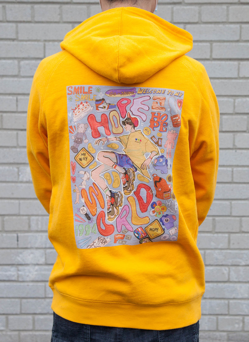 Hope World Hoodie (Gold)