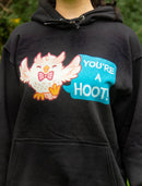 You're A Hoot Hoodie (Black)