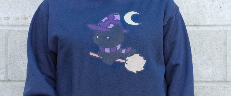 Witch Kitty Hoodie