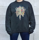 Autumn Heart Crewneck (Black)