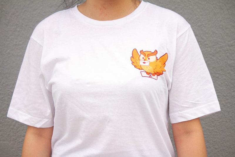 Owl Delivery Tee (White)