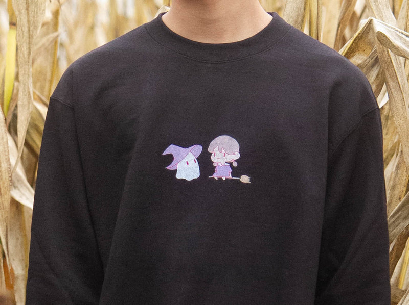 Ghost and Witch Crewneck