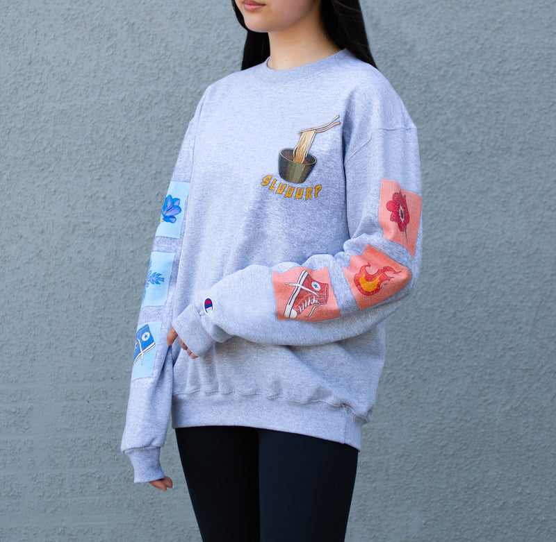 The Sassy Slurp Crewneck