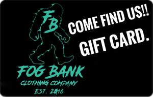 Fog Bank Clothing Company Gift Card