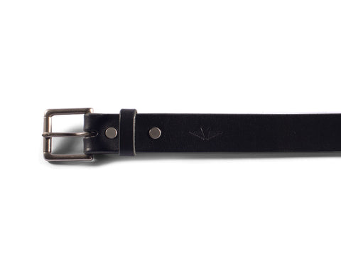 "Black Bridle Belt (1.25"")"