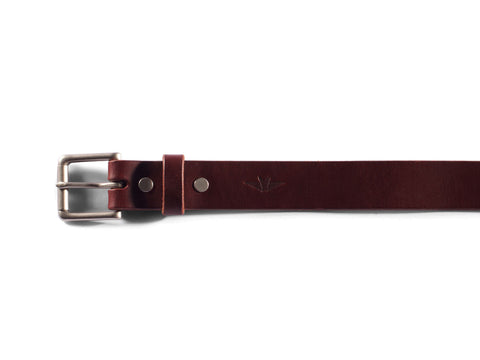 "Chestnut Bridle Belt (1.25"")"
